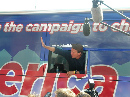John Edwards in Perry | by IowaPolitics.com