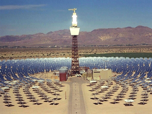 Concentrating Solar Plant | by International Rivers