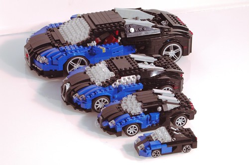 Bugatti Veyron 16.4 - Group Shot | by lego911