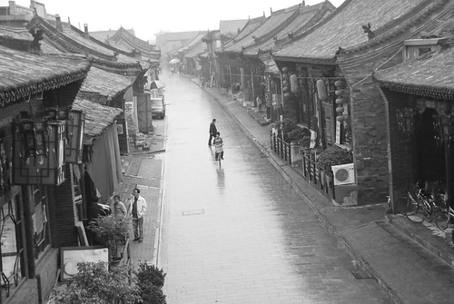 Rainy Pingyao | by magical-world