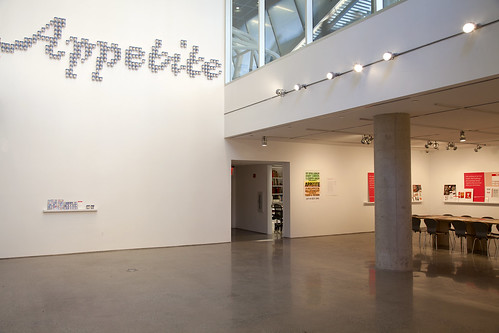 """Appetite"" exhibition. Gallery space view 