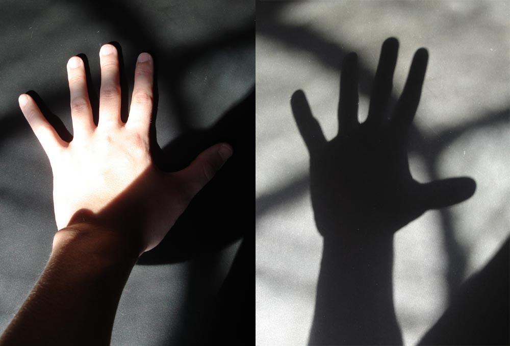 mão-sombra