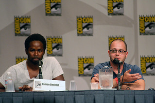 Harold Perrineau, Jr. and Damon Lindelof | by ewen and donabel