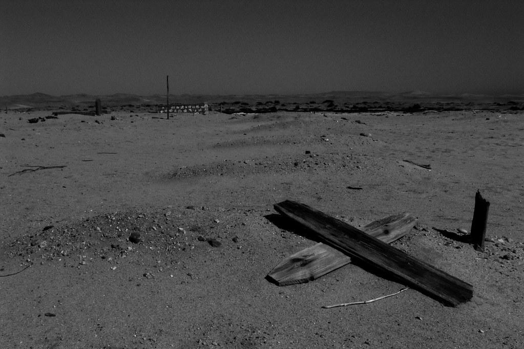 Namibian graveyard