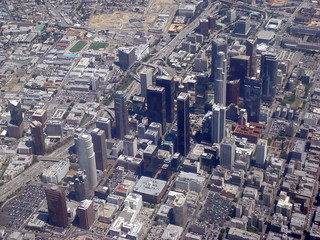 Aerial View Los Angeles Downtown | by Duncan Rawlinson - Duncan.co - @thelastminute