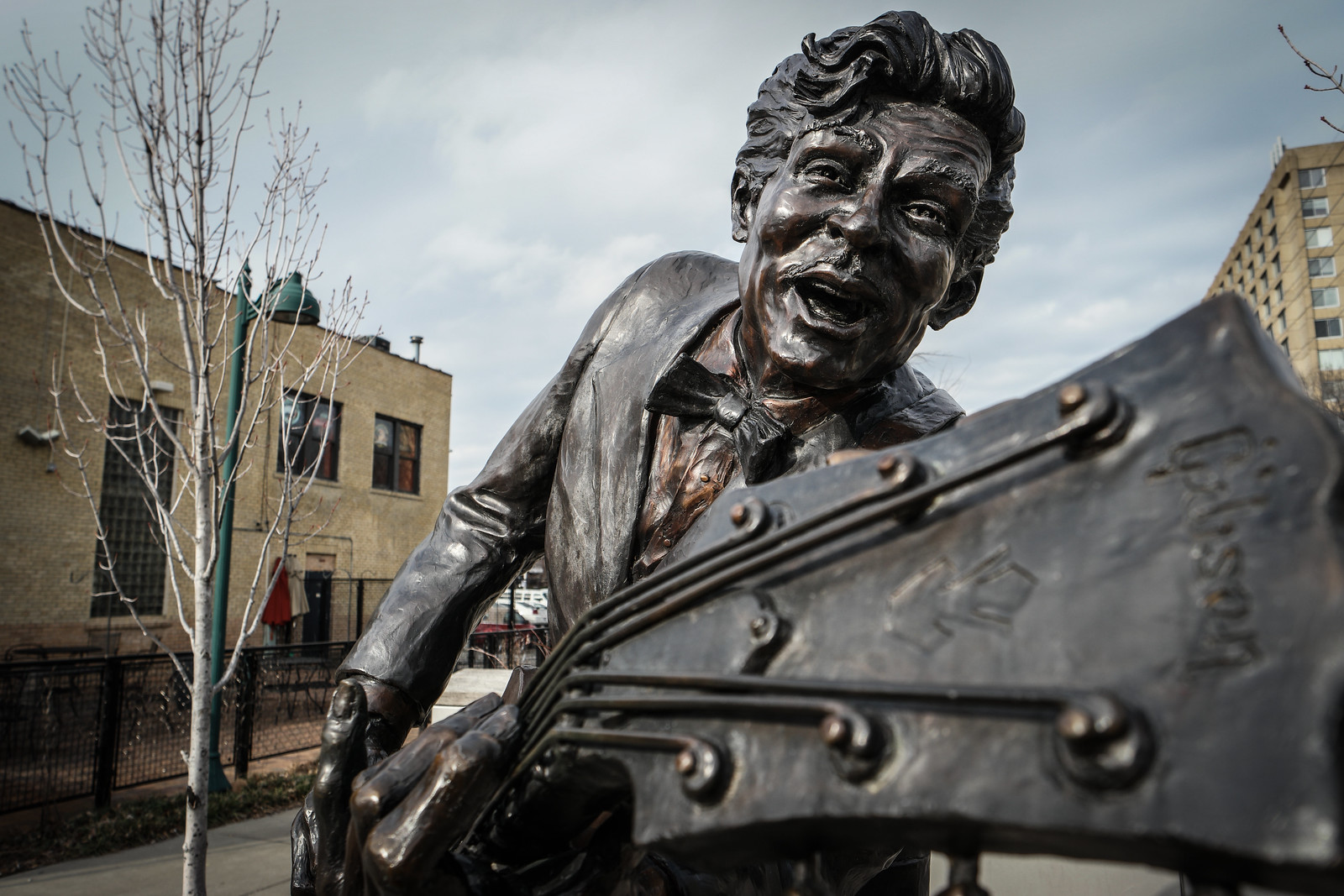 Chuck Berry Statue in St. Louis