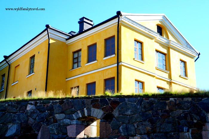 Suomenlinna Fortress UNESCO site Helsinki