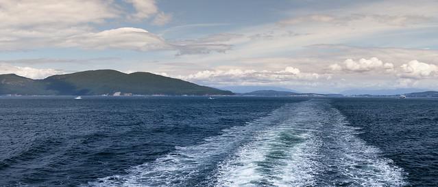Auf der Fähre durch die Southern Gulf Islands