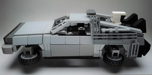 lego bttf delorean instructions