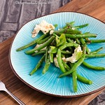 Green Beans with Mozzarella and Mint