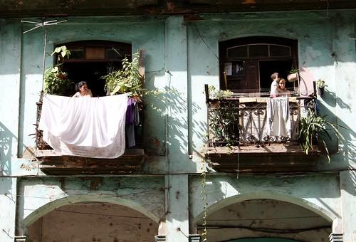 Balcones de la La Habana