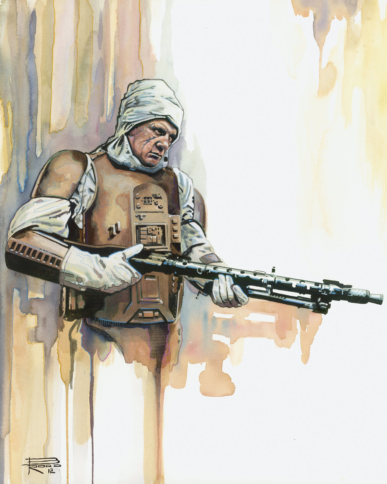 Star Wars Dengar by Brian Rood