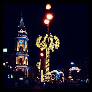 Last glimpse. #NY decorations in St.Petersburg, for #365days project