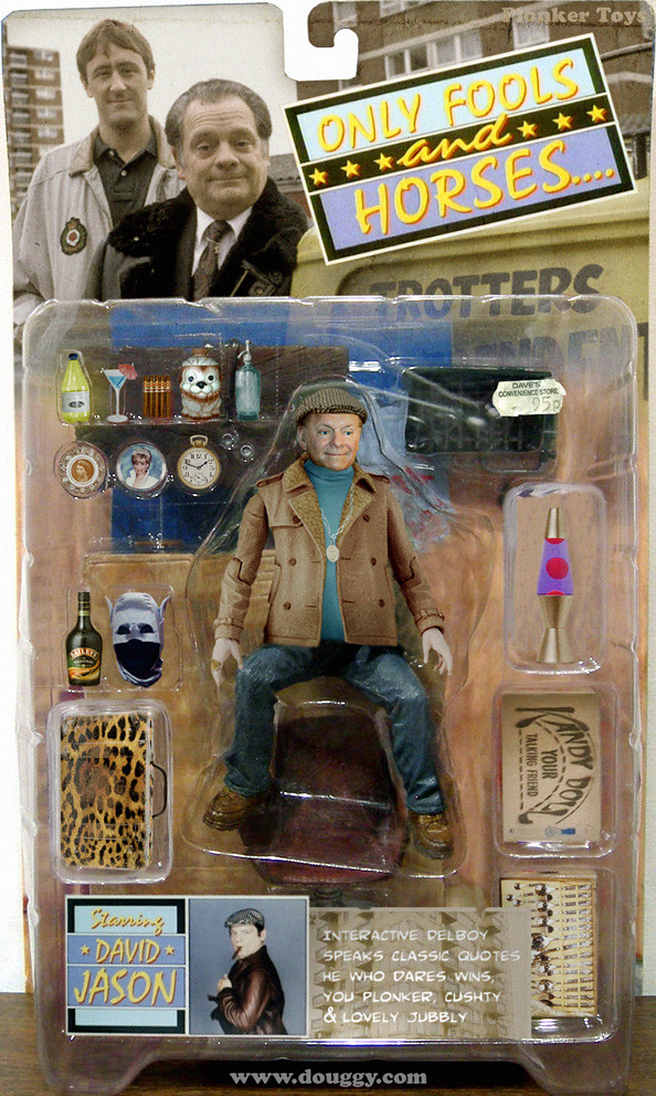 Amazing action figure concepts by Douggy - Only Fools and Horses Del Boy