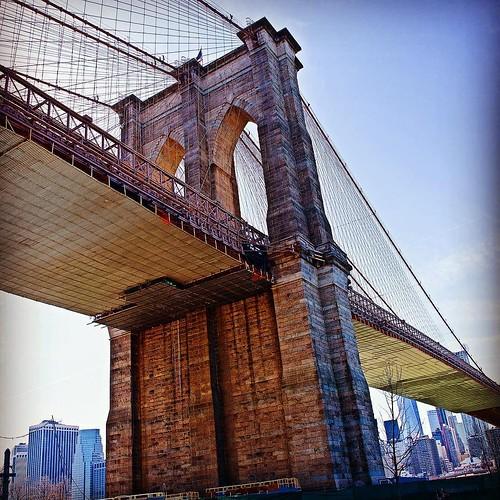 The Icon - The Brooklyn Bridge NYC. #gotham #ny #nyc #nyci ...