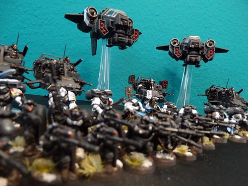 Warhammer 40K - Raven Guard Shadow Force