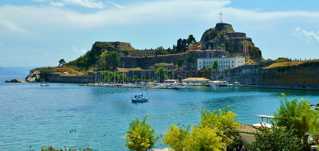 The Old Fortress, Corfu Town, Greece