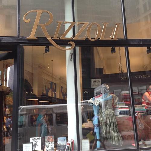 Rizzoli, NYC aug2016. Nueva York