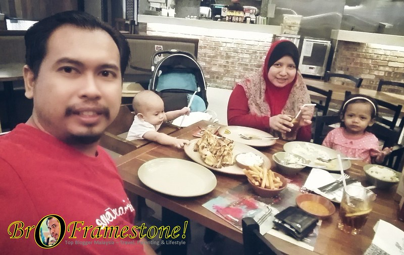 Dinner at Nando's AEON Rawang