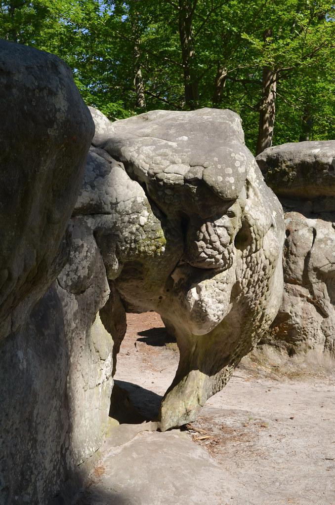 Au rocher de l'éléphant