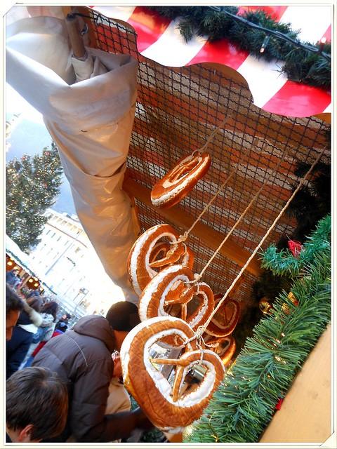 Pretzel morbidi, Bolzano natalizia