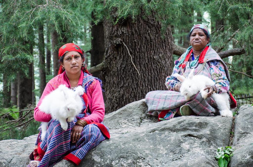 Village Women at Hidimba Temple