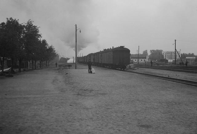 Viimeinen päivä Sortavalassa. Viimeinen juna Sortavalasta 1944.09.22