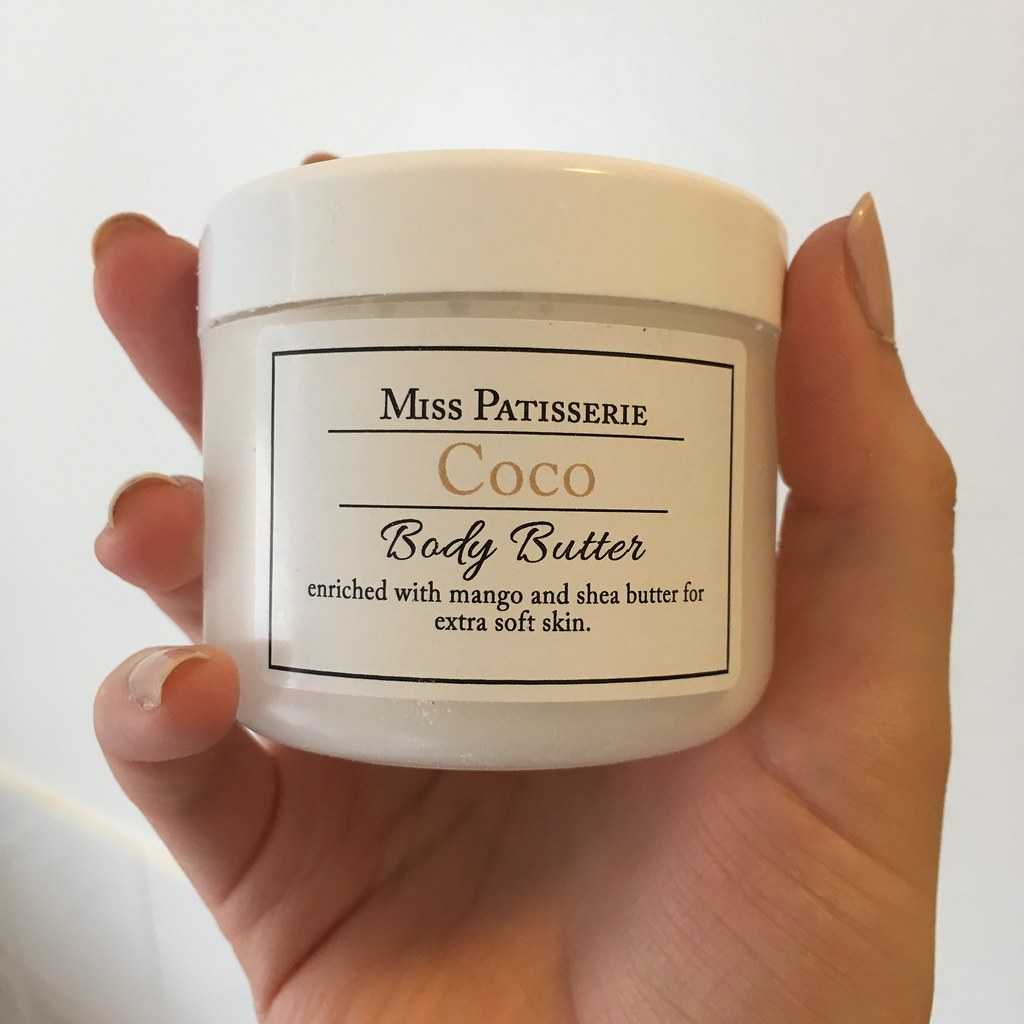 Miss Patisserie Coco Body Butter