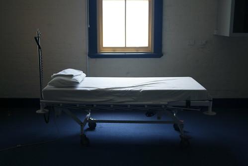old Bourke hospital bed