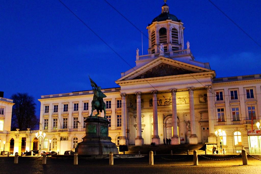 Drawing Dreaming - 48 horas em Bruxelas - o que fazer - Place Royale