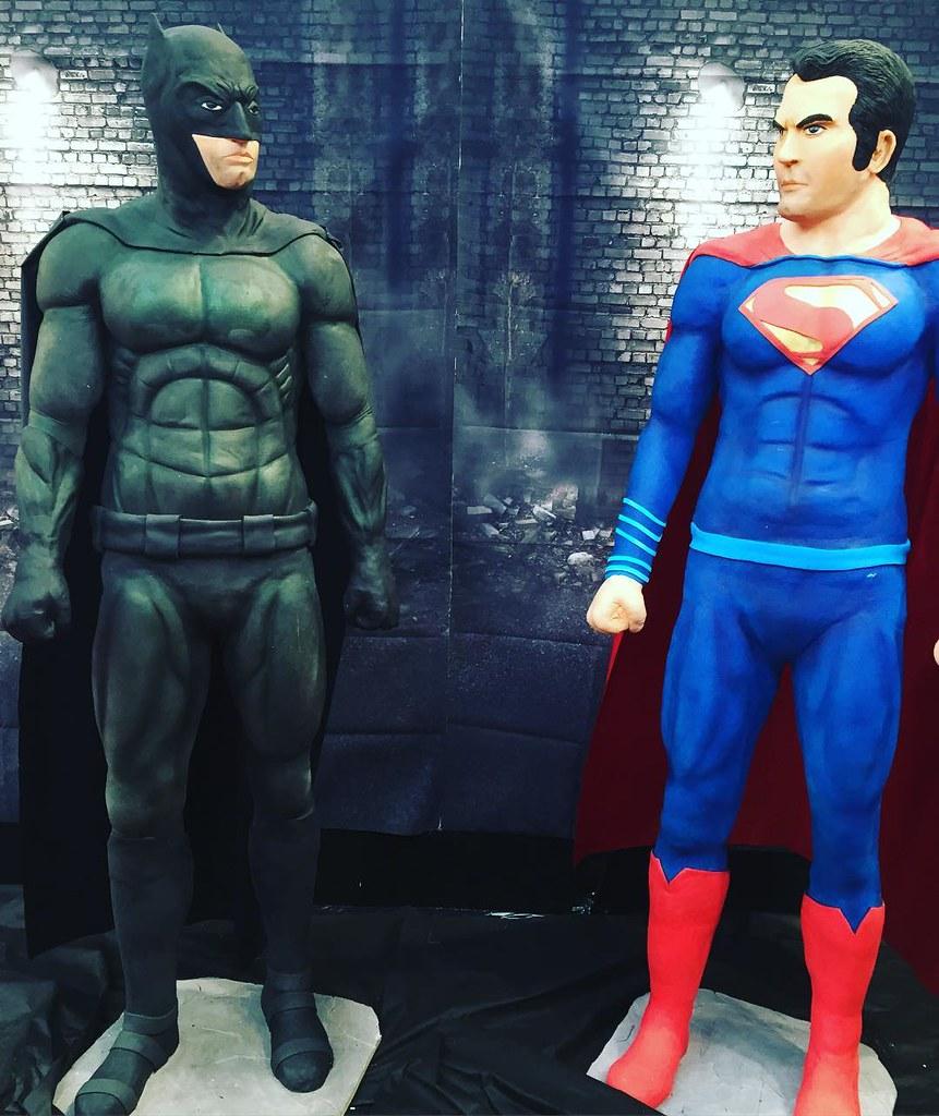 Batman v Superman at Cake International 2016