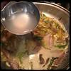 #pasta #SanGiuseppe #homemade #CucinaDelloZio - 2 ladles pasta water