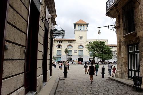 Llegando a la Plaza San Francico