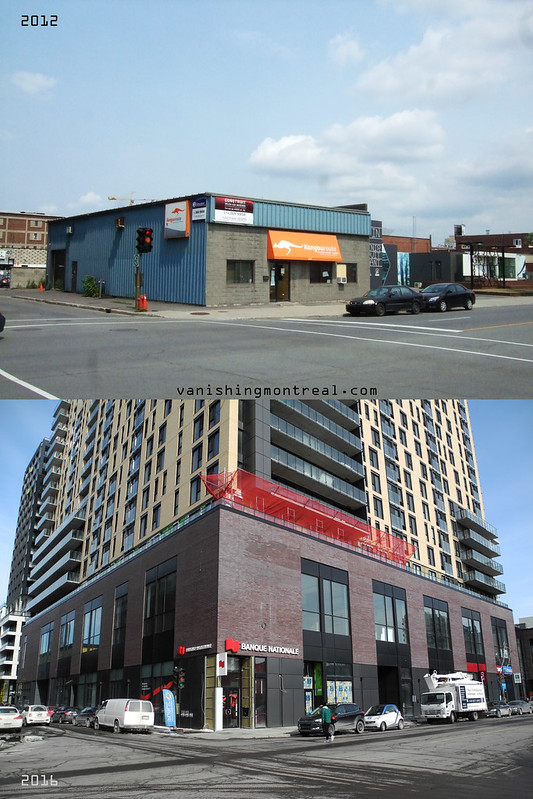 Before / After : Corner Ottawa and Peel