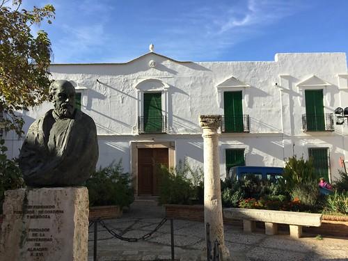 Statue of Friar Fernando Fernandez, Almagro, Spain