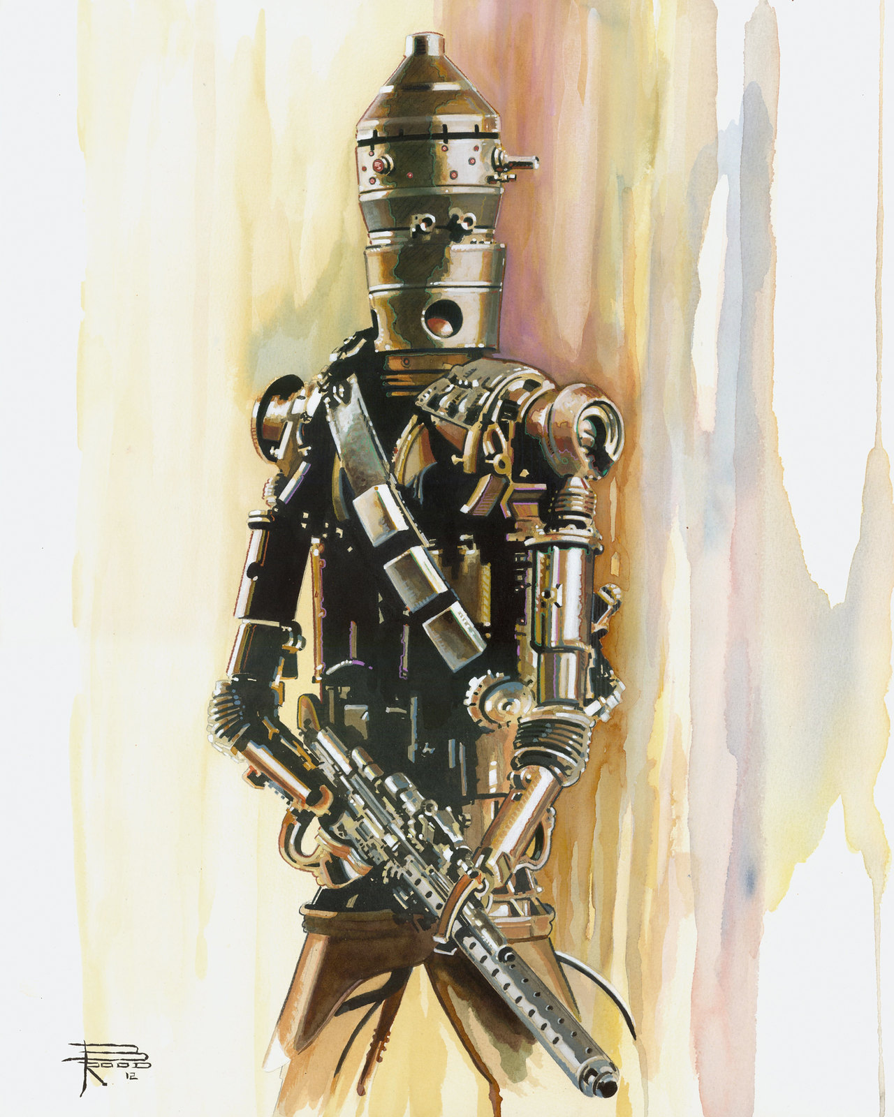 Star Wars IG-88 by Brian Rood