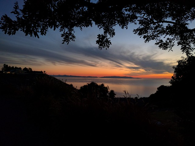 Catalina View After Sunset