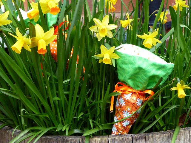 Easter Carrot Cornets tutorial