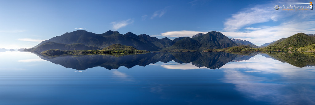 Kennedy Lake reflections