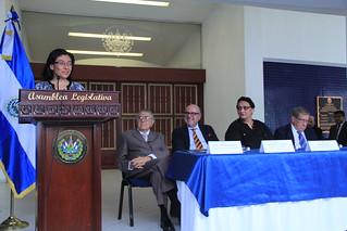 Asamblea Legislativa entrega reconocimiento a Embajada de España por conmemoración muerte Cervantes