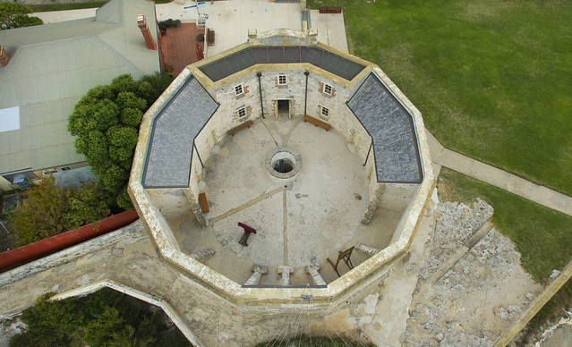 Convict built Roundhouse jail, Fremantle, Western Australia