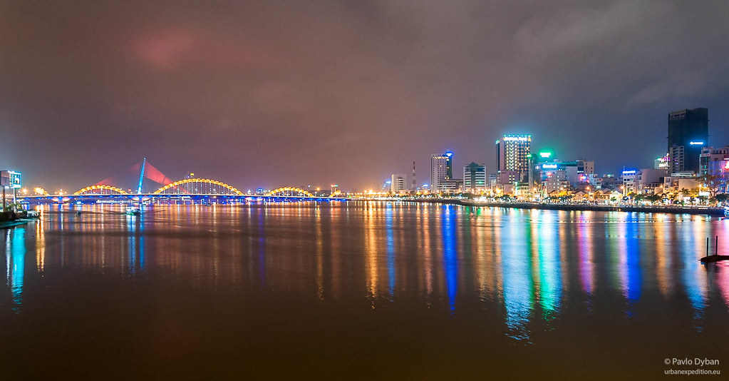 Bridges over the Han River in Danang