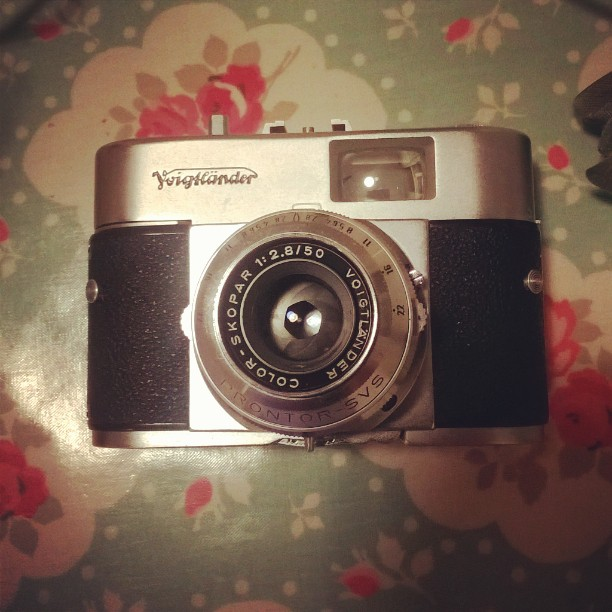 Voigtländer Vito B (late model). Possibly the sexiest 35mm P