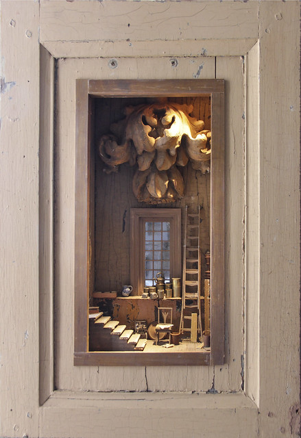 B124 - Peter Gabriëlse- box sculpture, new work at Kunst & Antiek Weekend - Naarden 2016