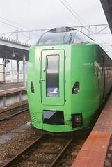 SUPER HAKUCHO at HAKODATE Station(1603-4-030020)
