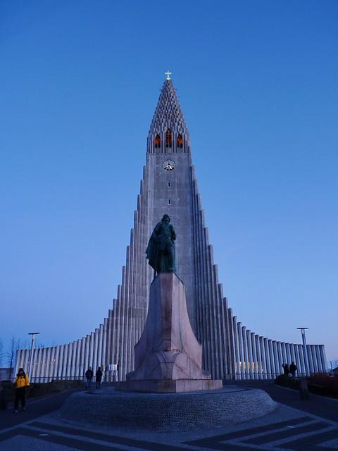 Hallgrímskirkja I Iceland