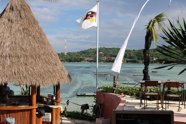 Le Pirate Beach Club in Bali