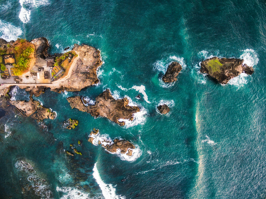 Indonesia Bali drone photo by Michael Matti