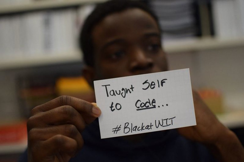 #BlackAtWIT