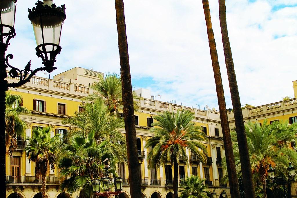 Drawing Dreaming - visitar Barcelona - Plaça Reial